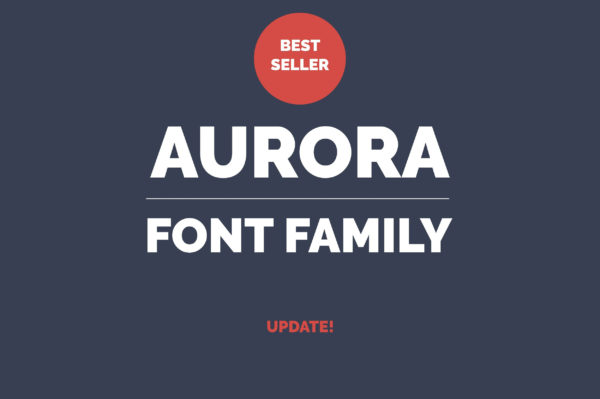 Aurora Professional Fonts Family