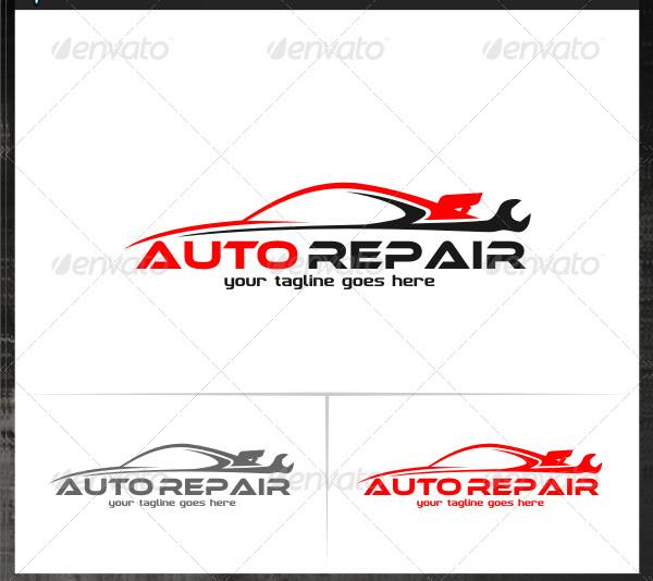 Auto Repair Logo Templates