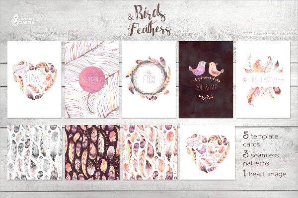 Clean Birds & Feathers Collection