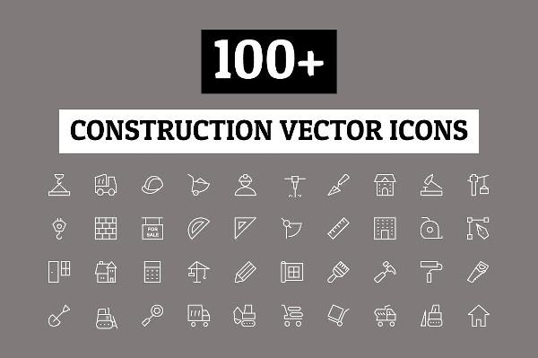 Concrete Stroke Icons