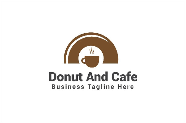 Donut And Cafe Logo Templates