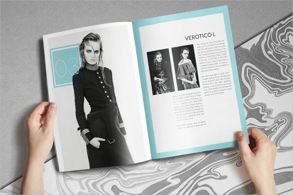 Fashion Booklet Design Template