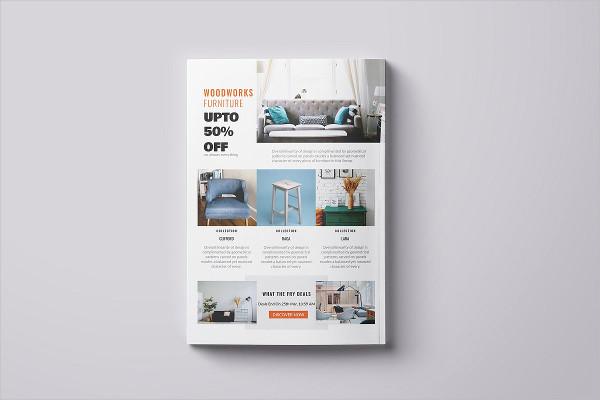 Interior Promotional Flyer PSD