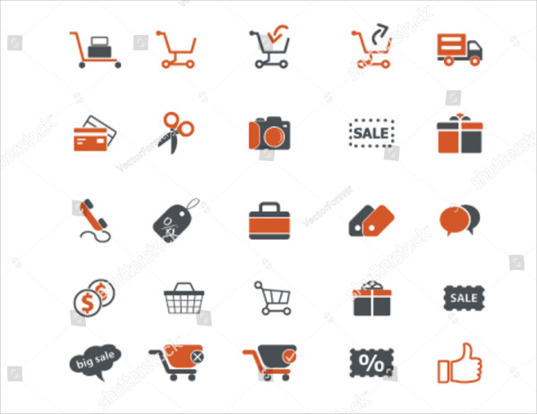 Global E-commerce Icons