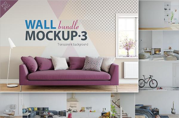Interior Wall Mock-ups Bundle