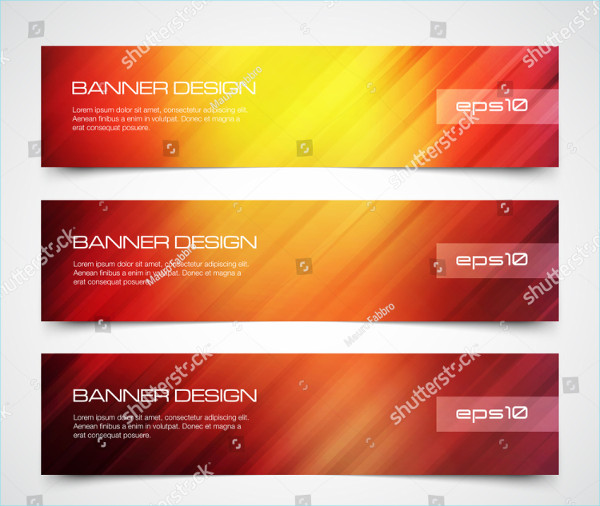 Modern Banners with Speed Motion Lines Background