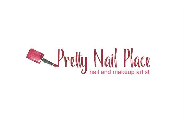 Nail Artist Logo Template