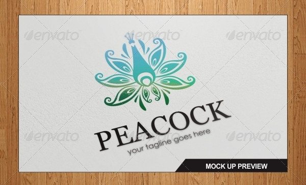 Multipurpose Peacock  Logo Template