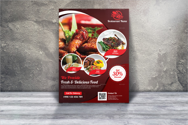 Popular Restaurant Flyer Design