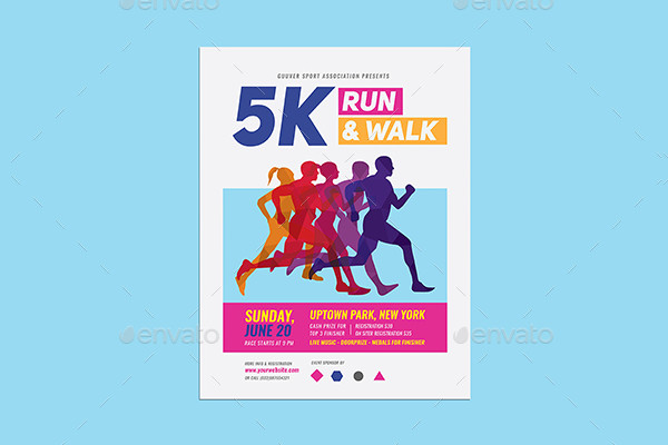 Special Marathon Event Flyer Template