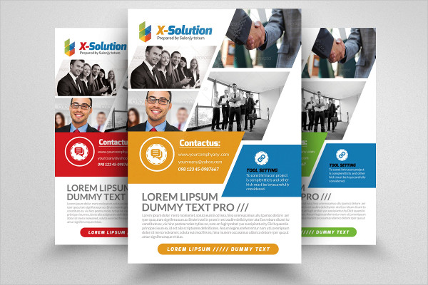 Ultimate Business Training Agency Flyer Template