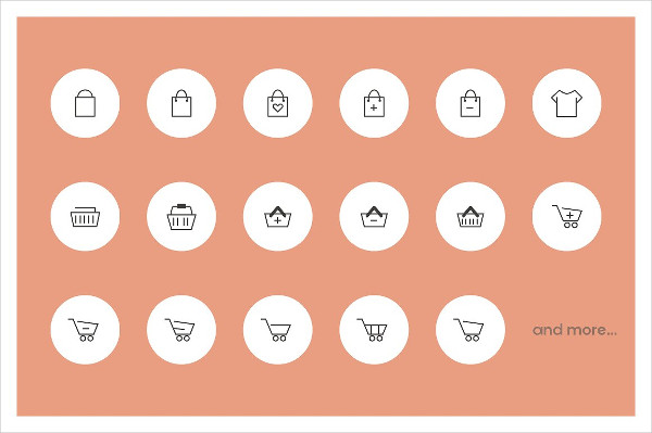 Pixel Perfect Icons for Ecommerce Project