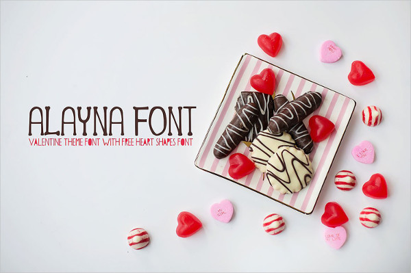 Cool Valentines Day Font