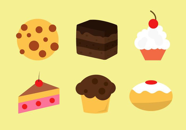Bakery Vector Icons Free Download