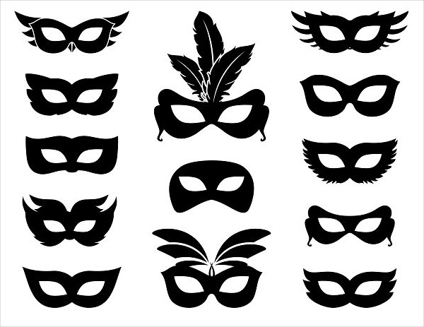 Carnival Mask Icons Pack