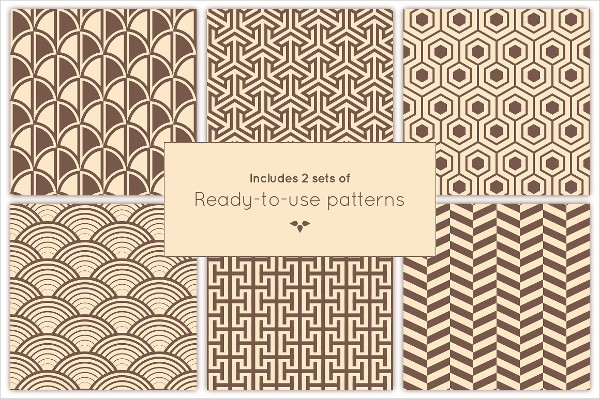 Classic Art Deco Pattern Collection