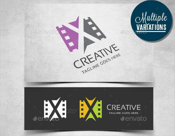 Creative Movie Production Logo Template