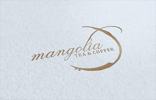 Elegant Tea & Coffee Logo Design
