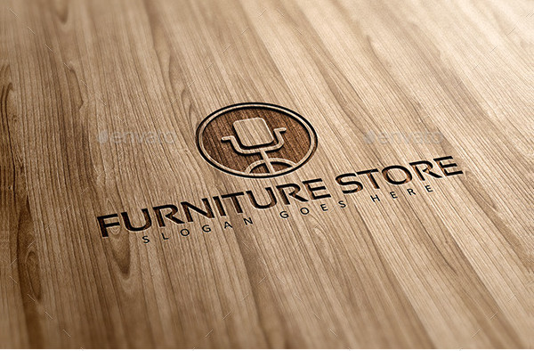 Furniture & Interior Logo Template