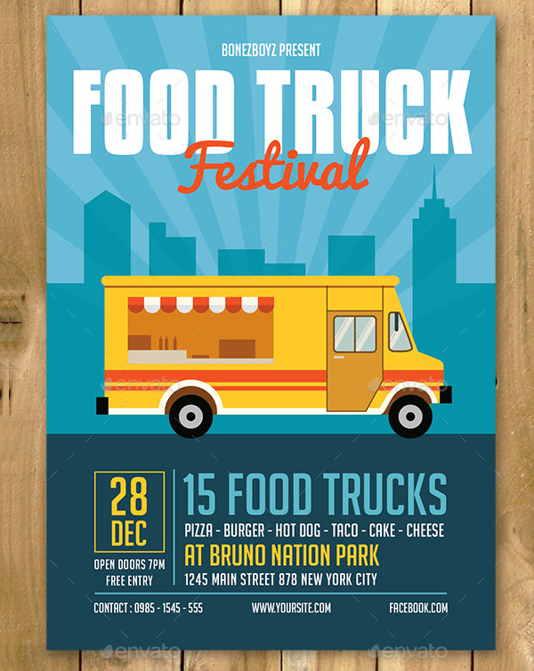 Best Food Truck Event Flyer