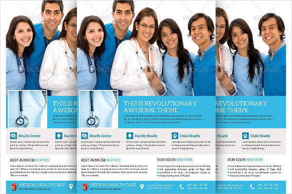 Medical & Doctor Flyer Examples