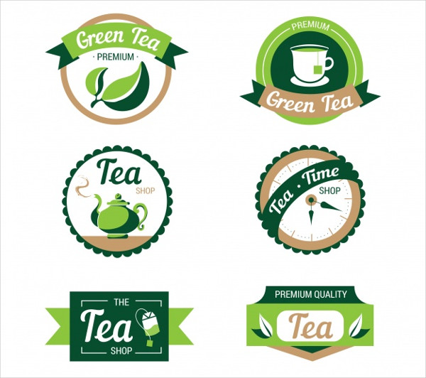 Tea Leaves Logo Collection Free Download