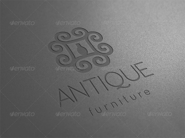 Unique Furniture Logo Template