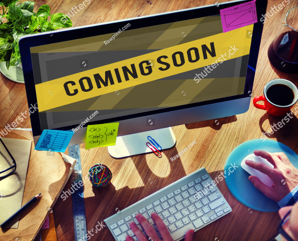 Website Under Construction Coming Soon Page Template
