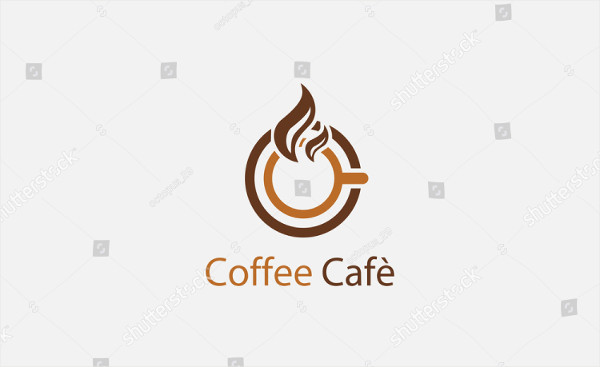 Abstract Coffee Cafe Logo
