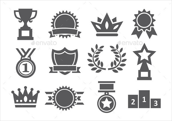 Gratitude Awards Icons