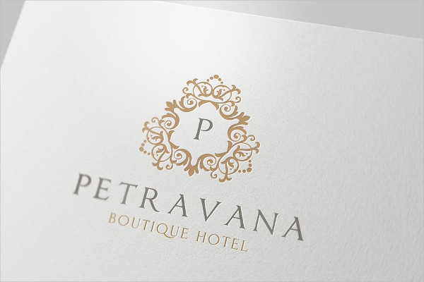 Boutique Hotel Branding Logo Design