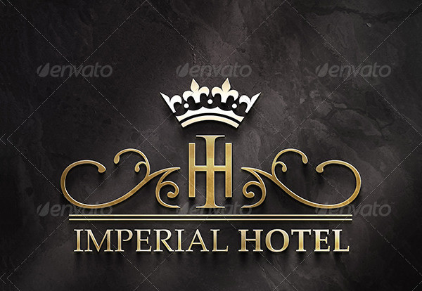 Imperial Hotel Logo Template