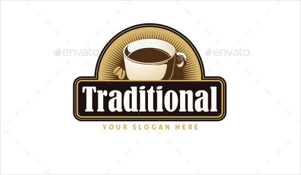 Traditional Coffee Logo Design