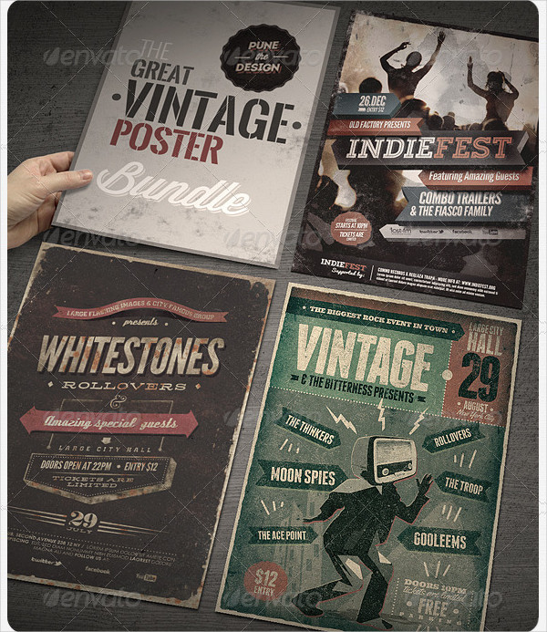 Great Vintage Posters Bundle