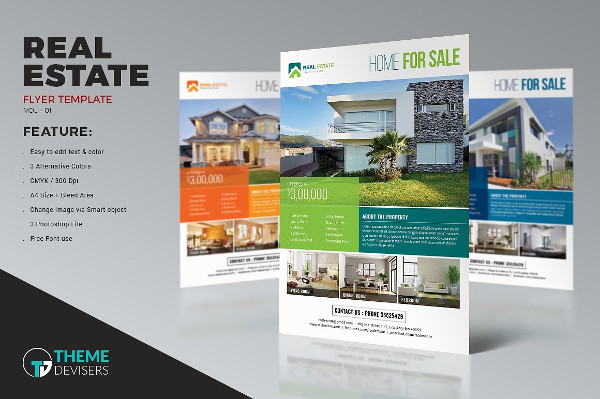 Best House for Sale Business Flyer
