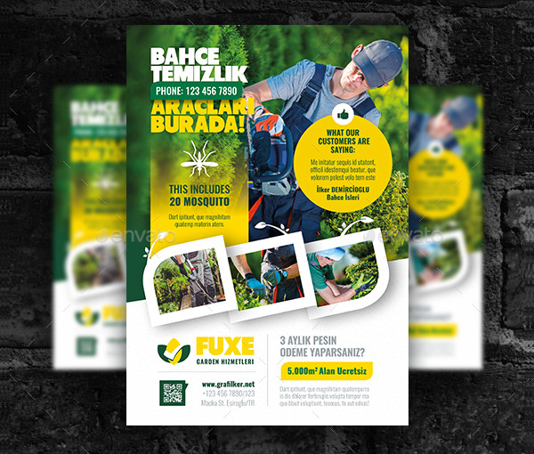 PSD Landscaping Flyers Design