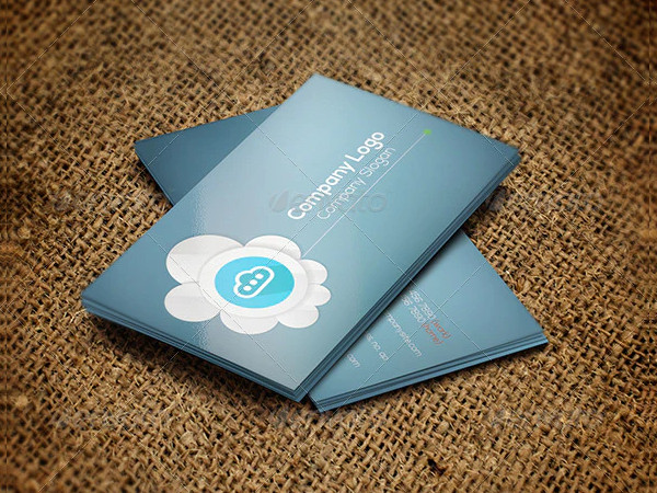 Cloud Corporate Business Card