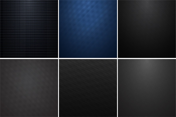Collection of Carbon Metallic Textures