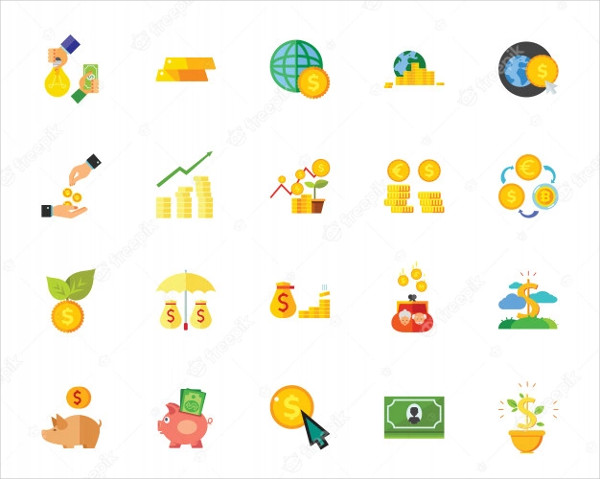 Money Icon Collection Free Download