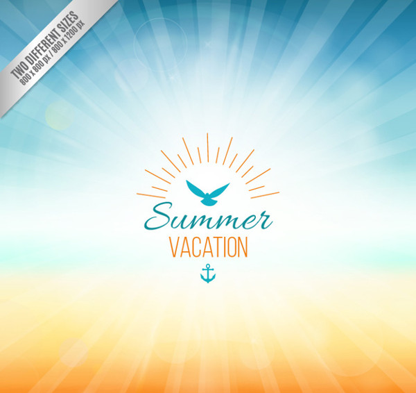 Background for Summer Vacation Free