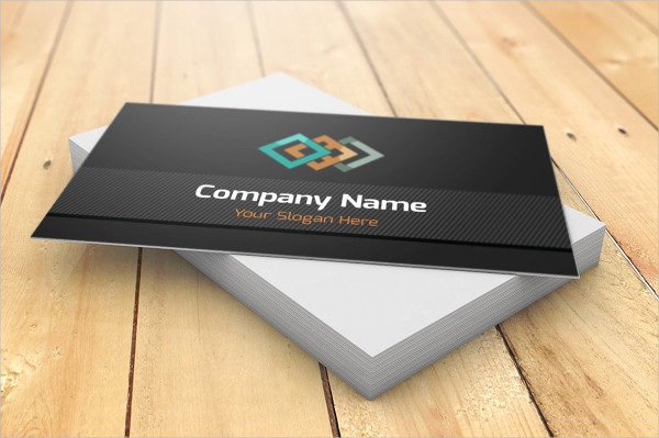 Company Name Visiting Card Template