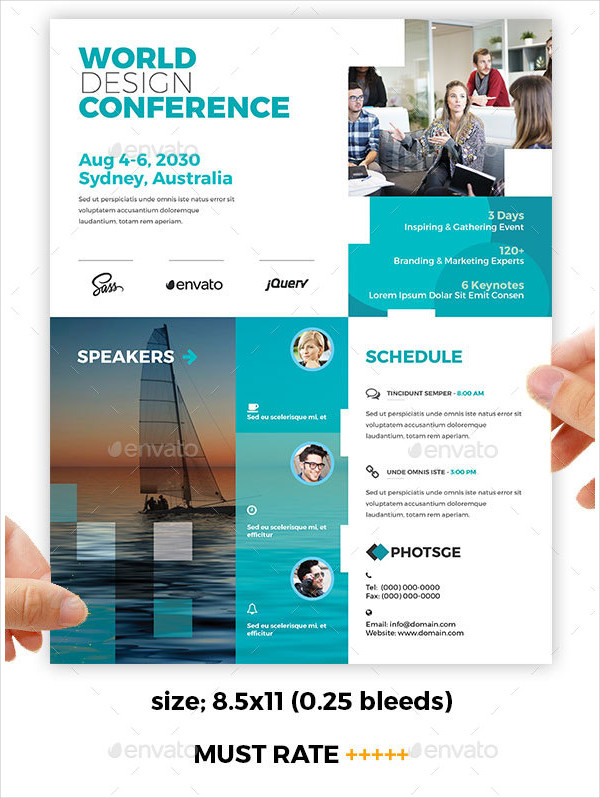 Conference Training Flyers Design