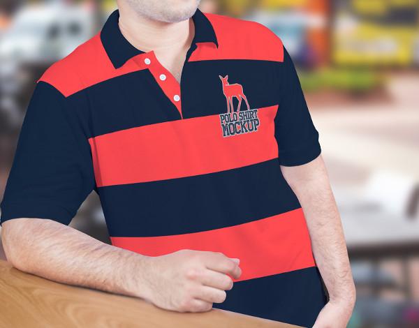 Free PSDPolo Shirt Mock-up