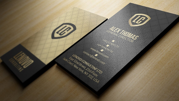 Gold Business Card Templates