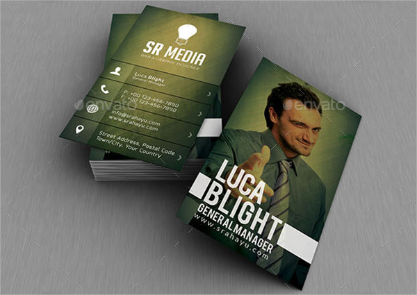 Famous Personal Business Cards