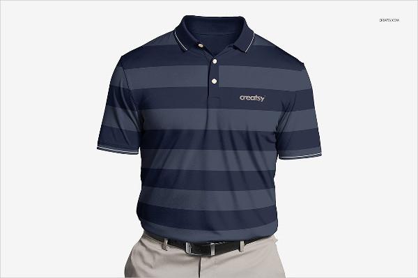 Polyester Polo Shirt Mockups Set