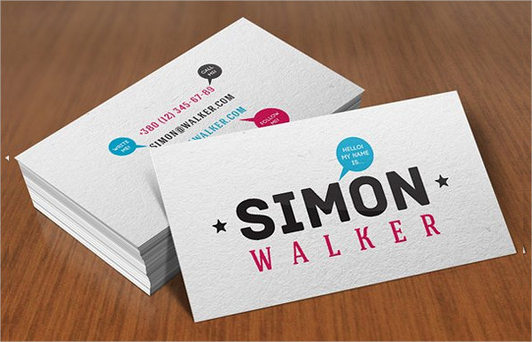 Print Ready Personal Business Cards Template