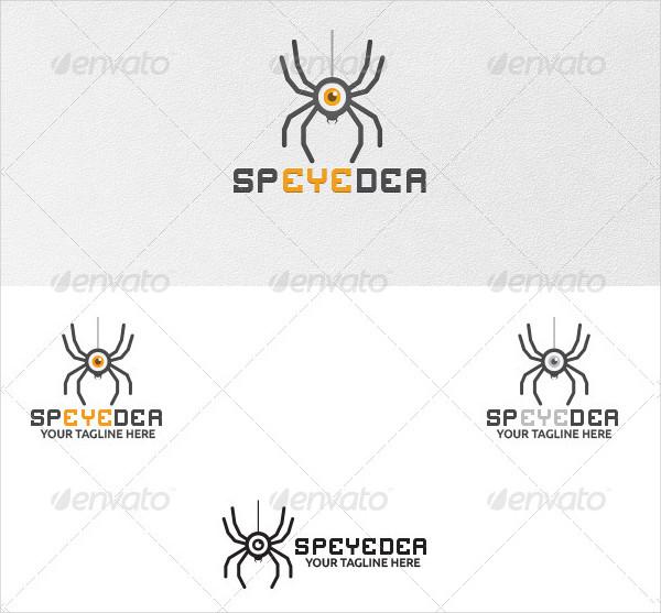 Sp'eye'der Logo Template