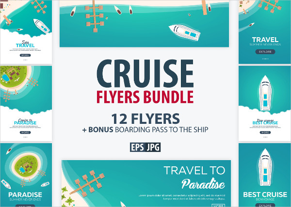 Best Cruise Flyers Bundle