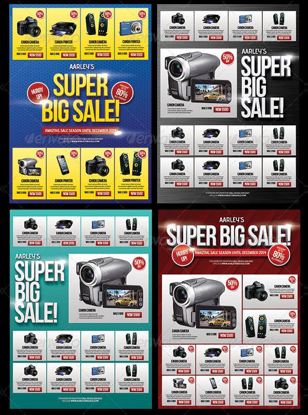 Big Sale Promotion Flyer Design